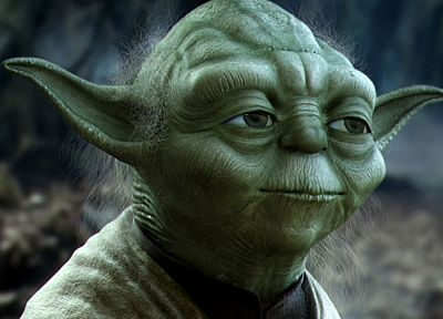 Star Wars, movies, forests, science fiction, Yoda, 3D renders, 3D modeling, 3D - desktop wallpaper