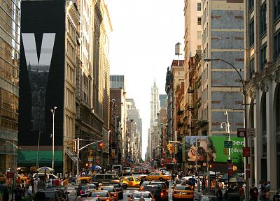 cityscapes, architecture, urban, buildings, New York City, Manhattan, hardscapes, cities - related desktop wallpaper