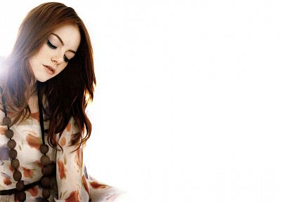 women, actress, Emma Stone - random desktop wallpaper
