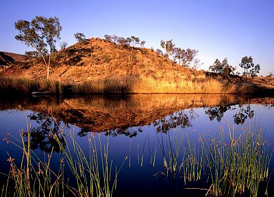 landscapes, Australia, reflections - related desktop wallpaper