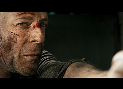movies, screenshots, Die Hard, Bruce Willis - random desktop wallpaper