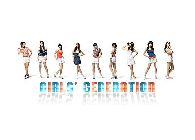 women, Girls Generation SNSD, simple background - random desktop wallpaper