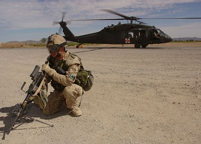 soldiers, military, helicopters, men, Blackhawk, vehicles - related desktop wallpaper