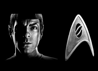 Star Trek, Spock, Star Trek logos - desktop wallpaper
