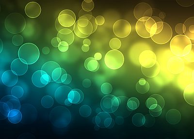 abstract, circles, bokeh - related desktop wallpaper