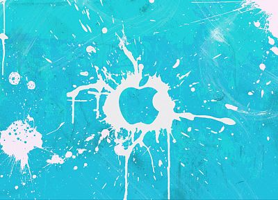 Apple Inc., splashes - random desktop wallpaper