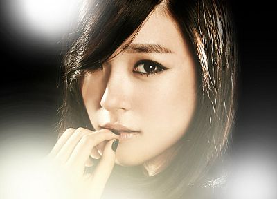 brunettes, women, Girls Generation SNSD, celebrity, Tiffany Hwang - random desktop wallpaper