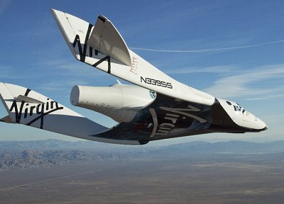 Virgin Galactic - random desktop wallpaper