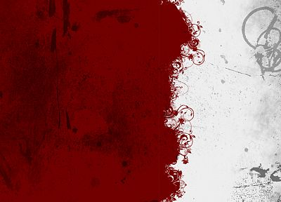 abstract, red, white - related desktop wallpaper