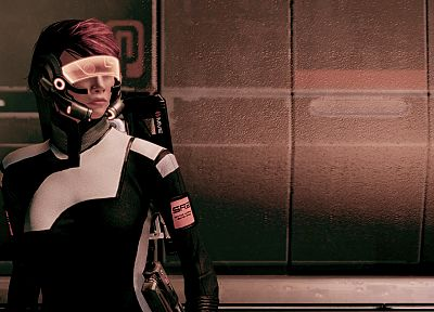Mass Effect 2, FemShep, Commander Shepard - random desktop wallpaper
