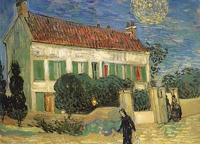 paintings, Vincent Van Gogh - random desktop wallpaper