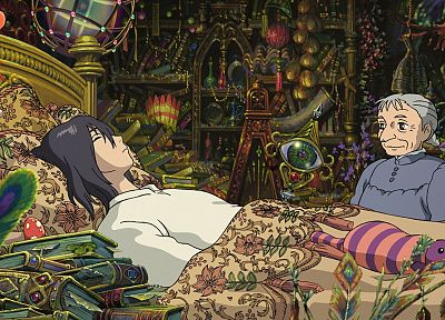 Howl's Moving Castle - random desktop wallpaper