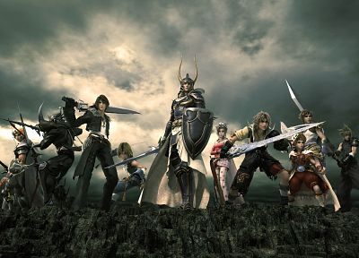 Dissidia Final Fantasy - random desktop wallpaper