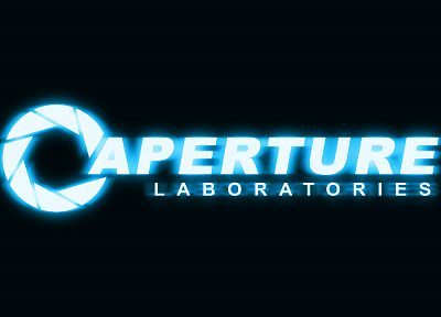 Valve Corporation, Portal, Aperture Laboratories, logos - related desktop wallpaper