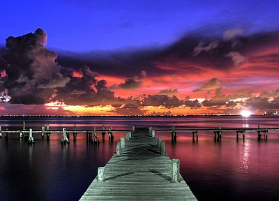 landscapes, dock - random desktop wallpaper