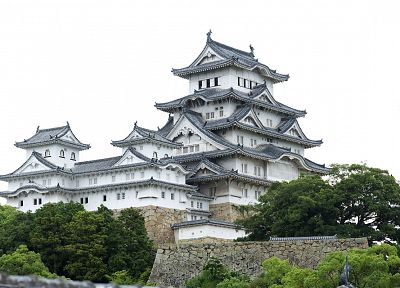 Japan, castles, architecture, Osaka, house, Osaka Castle - random desktop wallpaper