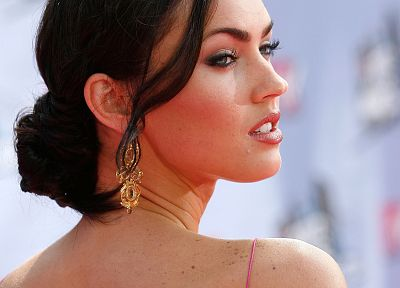 tattoos, women, Megan Fox, actress, celebrity - related desktop wallpaper