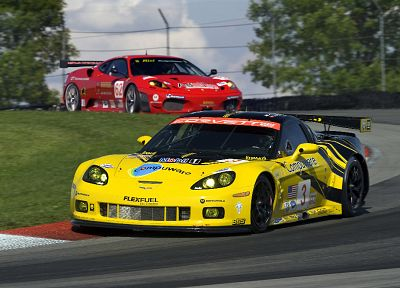 cars, Ferrari, rally, Corvette - random desktop wallpaper