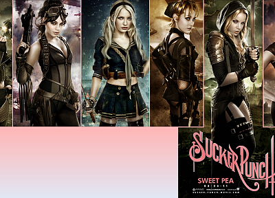 women, Emily Browning, Vanessa Hudgens, Sucker Punch, Carla Gugino, Jena Malone, Jamie Chung, Abbie Cornish - related desktop wallpaper