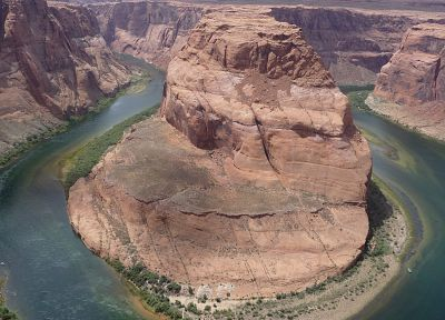 nature, USA, horseshoe bend - random desktop wallpaper