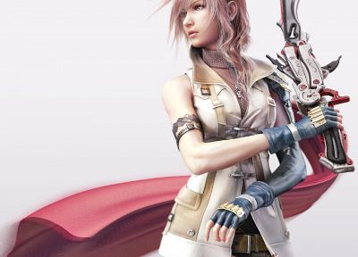 Final Fantasy, video games, Final Fantasy XIII - random desktop wallpaper