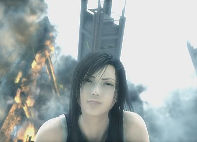 Final Fantasy VII Advent Children, Tifa Lockheart - desktop wallpaper