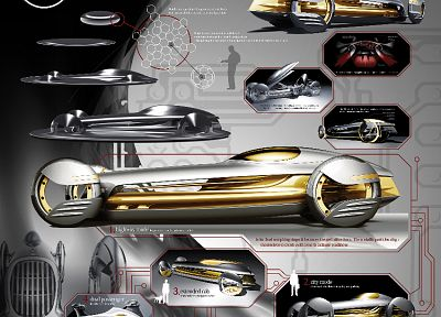 cars, concept cars, Mercedes-Benz - random desktop wallpaper