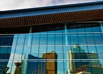 architecture, buildings, reflections - related desktop wallpaper