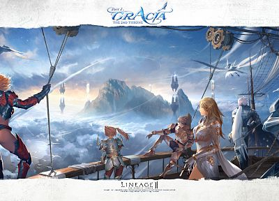 video games, Lineage 2 - desktop wallpaper