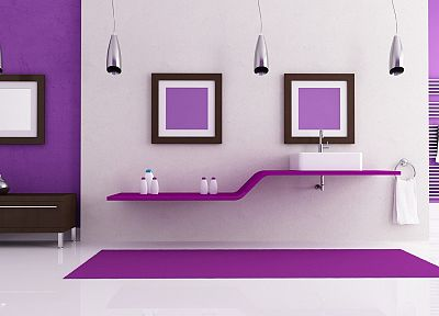 design, purple, interior - desktop wallpaper