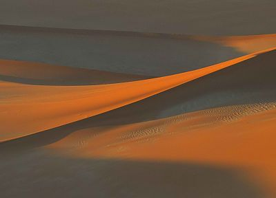 sand, deserts, shadows, Namibia, Africa - related desktop wallpaper