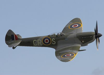 aircraft, military, vehicles, Supermarine Spitfire - related desktop wallpaper