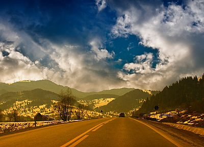 landscapes, nature, roads - random desktop wallpaper