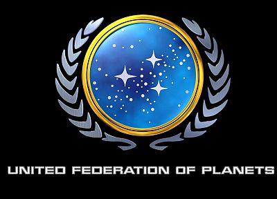 fiction, Star Trek, symbol, logos, United Federation of Planets, Star Trek logos - related desktop wallpaper