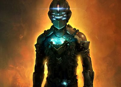 video games, Dead Space, artwork, Isaac Clarke - desktop wallpaper