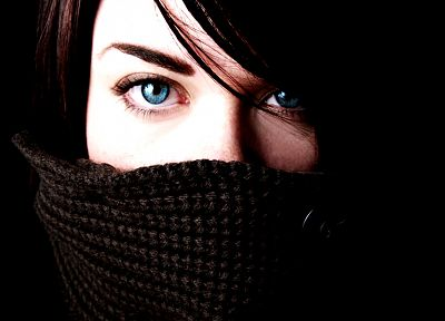 women, close-up, blue eyes, faces - random desktop wallpaper
