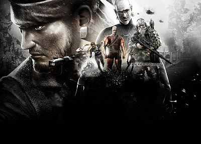 Metal Gear Solid, the end, Naked Snake, Metal Gear Solid 3 - desktop wallpaper