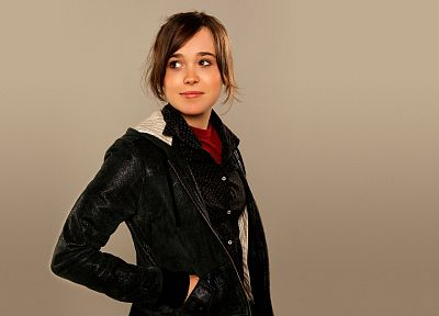 women, Ellen Page, actress, celebrity - random desktop wallpaper
