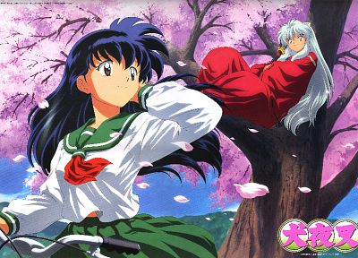 Inuyasha, kagome, anime - related desktop wallpaper