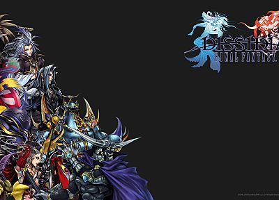 Final Fantasy, video games, Dissidia Final Fantasy - related desktop wallpaper