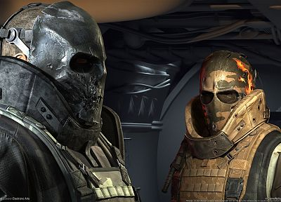 video games, Army of Two, 3D, Electronic Arts - desktop wallpaper