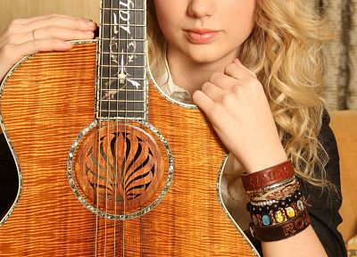 women, Taylor Swift, celebrity, guitars, singers - desktop wallpaper