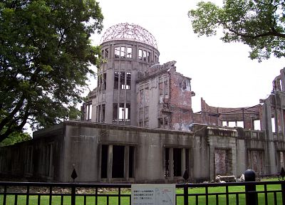 ruins, architecture, buildings, Hiroshima - desktop wallpaper