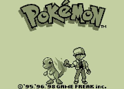 Pokemon, pixels, Charmander, retro games - desktop wallpaper