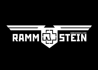 black and white, Rammstein, music bands - random desktop wallpaper