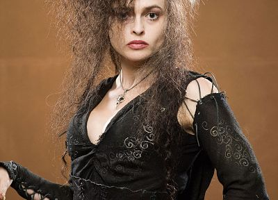 Harry Potter, Helena Bonham Carter, Bellatrix Lestrange, Death Eaters, portraits - related desktop wallpaper