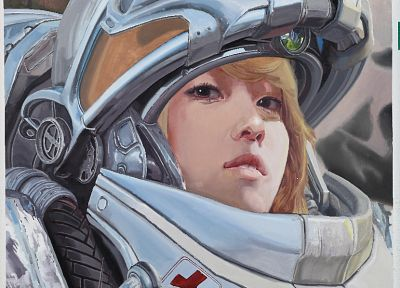 StarCraft, Jessica Jung, medic - random desktop wallpaper