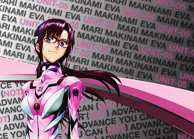 Neon Genesis Evangelion, Makinami Mari Illustrious - random desktop wallpaper