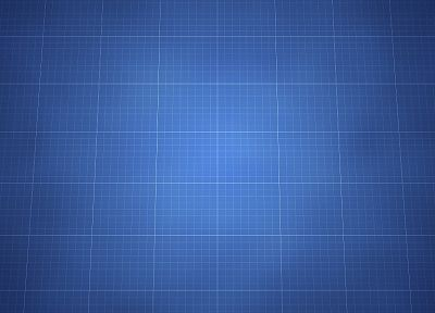blue, minimalistic, pattern, grid, backgrounds - random desktop wallpaper