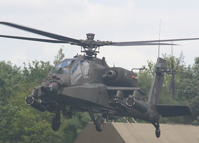 helicopters, vehicles, AH-64 Apache - related desktop wallpaper